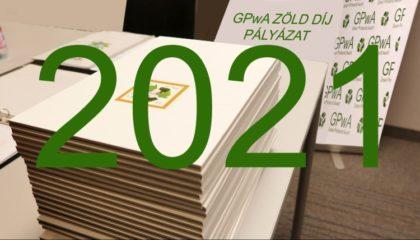 Már jelentkezhet a GPwA Zöld Díj pályázatra