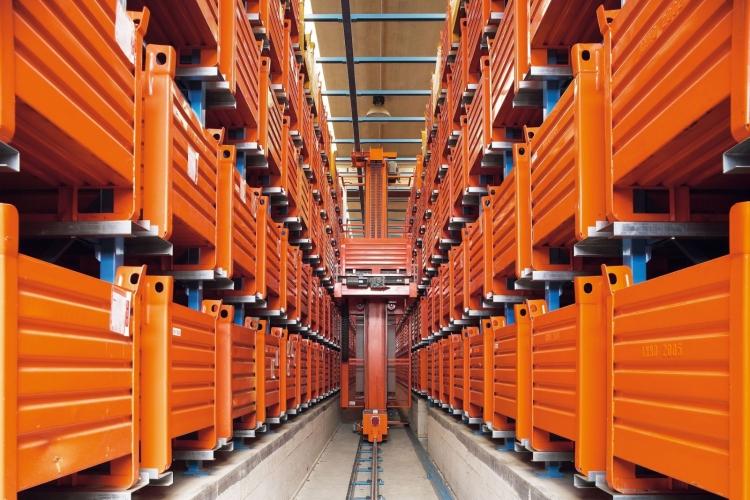 logisztikában automata raktár
