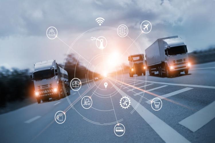 logisztikában önvezető kamion autonóm