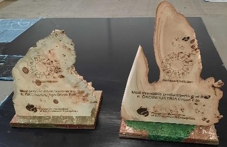 ökoindustria szakkiállítás díj