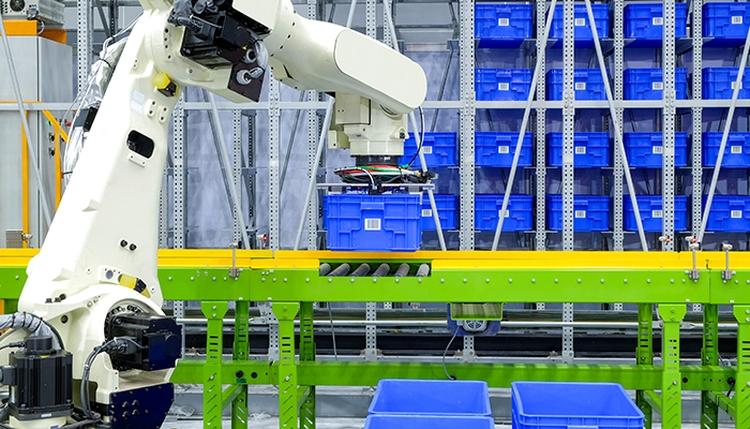logisztikában robotkar digitalizáció