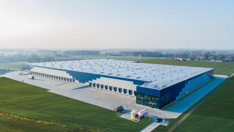 logisztikai központ panattoni lengyelország