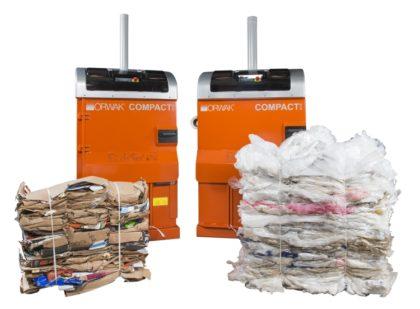 Megoldás a hulladékkezelési problémákra: csak tömören
