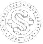 Soproni Egyetem logó