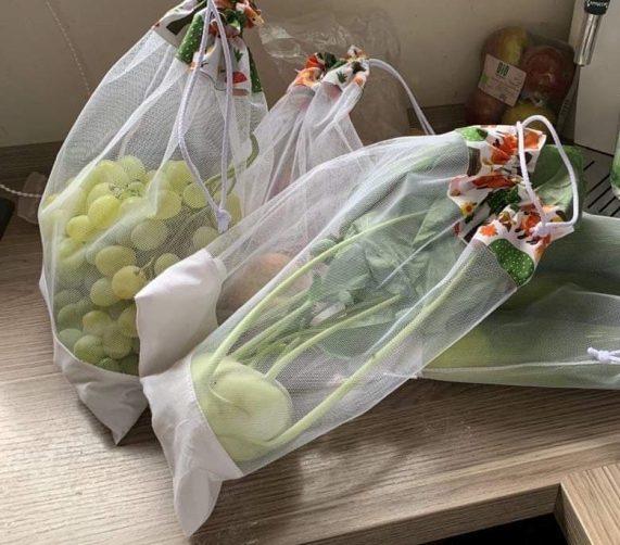 mosható zöldséges zsák