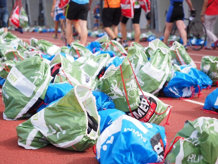 műanyag táska kerékpár verseny triatlon