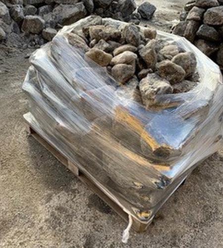 raklap kő fólia csomagolás