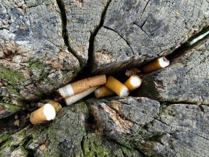 Döbbenetes mennyiségű cigarettacsikk nem a kukában landol