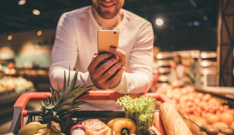 élelmiszer, telefon