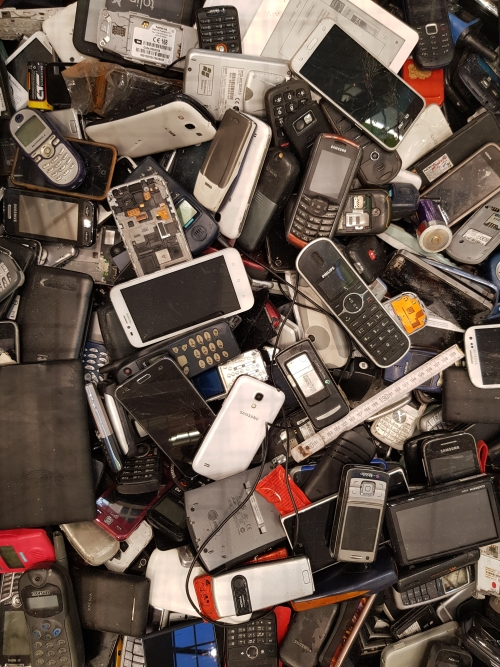 mobiltelefon begyűjtés újrahasznosítás
