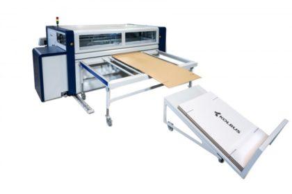 Innovatív hullámkarton doboz gyártó gép
