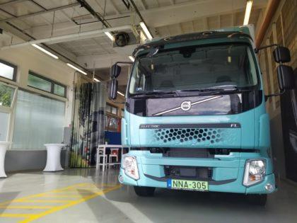 Zöld és csendes: az első széria e-teherautó itthon