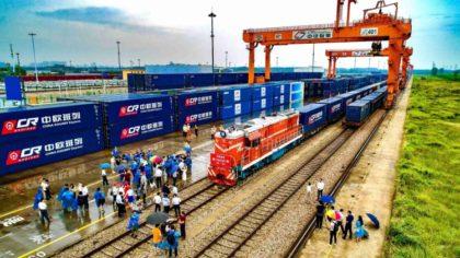 Lényegesen nőtt a tehervonatok száma Európa és Kína között