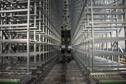 Logisztikai beruházás, magasraktár épült Baján