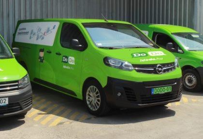 Nagy a kereslet a környezetbarát kisáruszállító járművekre